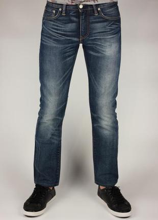 Фирменные зауженные джинсы в стиле diesel
