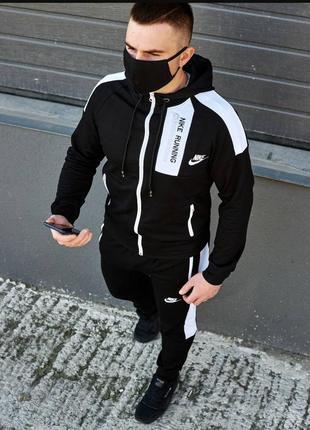 Спортивный костюм nike running, новая колекция 2020, сезон весна-осень