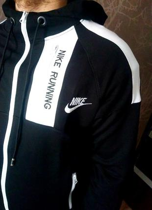 Спортивный костюм nike running, новая колекция 2020, сезон весна-осень2 фото