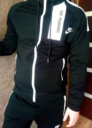 Спортивный костюм nike running, новая колекция 2020, сезон весна-осень4 фото