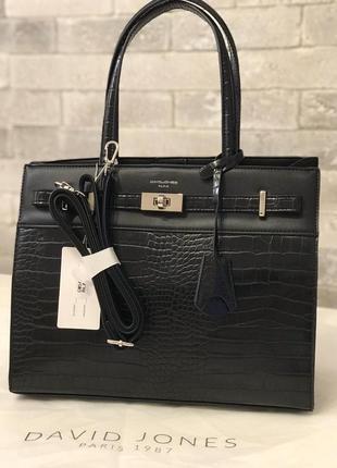 Элегантная женская сумка david jones новинка 2020