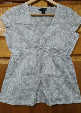 Фирменная рубашка, блуза h&m 36/6