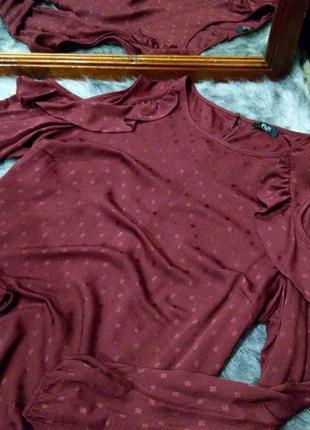 #розвантажуюсь блуза топ кофточка с вырезами на плечах f&f2 фото