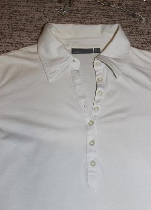 Тканевая фирменная блуза mexx