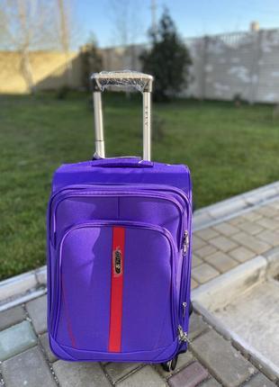 Чемодан текстиль 4 колеса ,ткань ,валіза ,польский fly