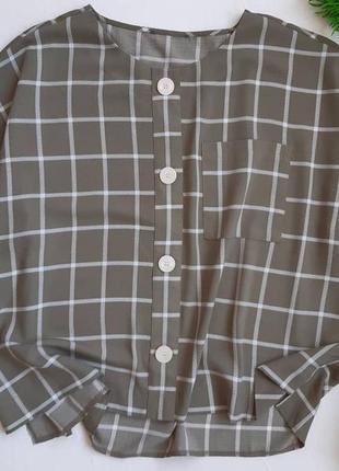 Шикарная блуза оверсайз