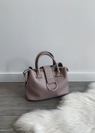 Сумка, сумочка кремовая