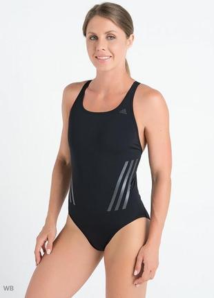 Cлитный спортивный купальник adidas. оригинал. dq3288