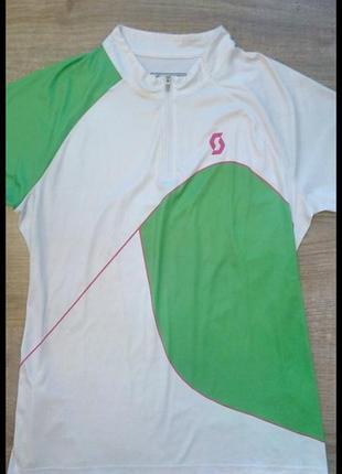 Трекинговая футболка на молнии scott