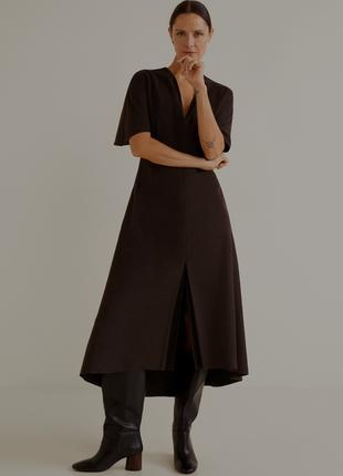 Новое с бирками шикарное платье mango супер состав