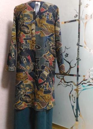 Шикарное платье обманка, макси)   пог 52 от gracila