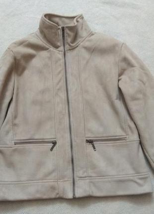 Куртка под замш