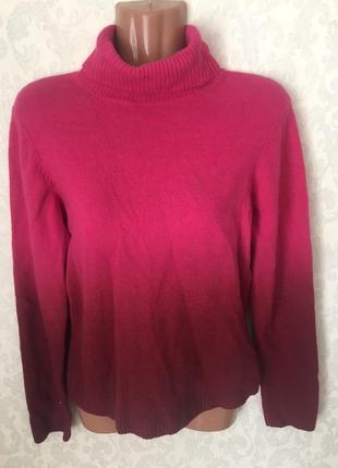 Шикарный яркий свитер