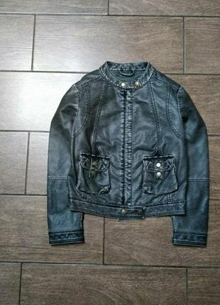 Кожаная курточка # кожанка # курточка # куртка