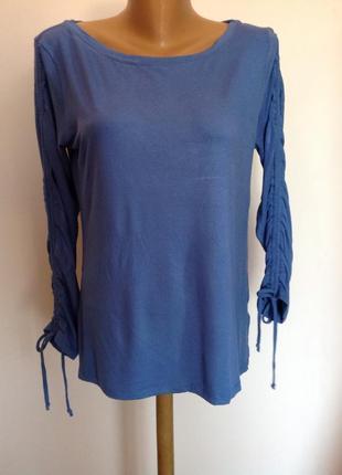 Вискозная немецкая блузка/l- xl/ brend by stefeen schraut