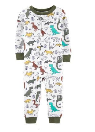Пижама слип человечек carters для мальчика 12-18м carter's (картерс)