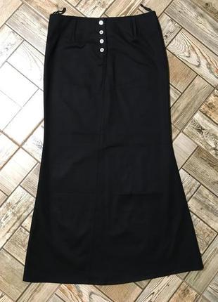 Стильная коттоновая юбка стрейч на пуговицах,melrose
