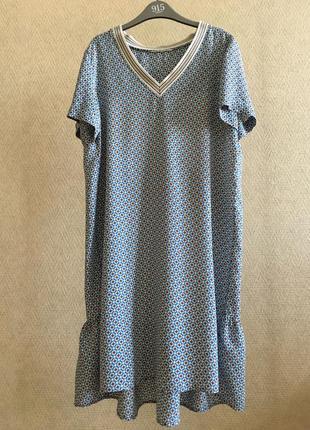 Платье sack's вискоза шелк
