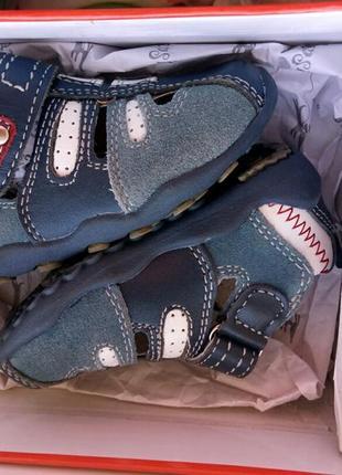 Туфли мокасины сандалики кожа полностью