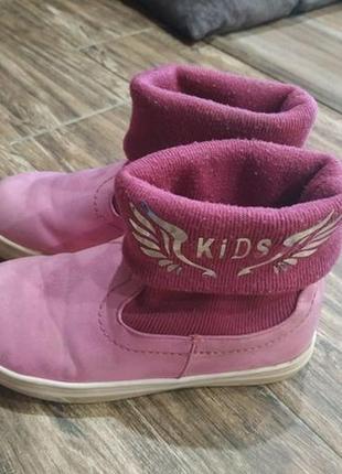 Ботинки для девочки 18,5 см2 фото