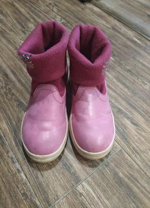 Ботинки для девочки 18,5 см1 фото