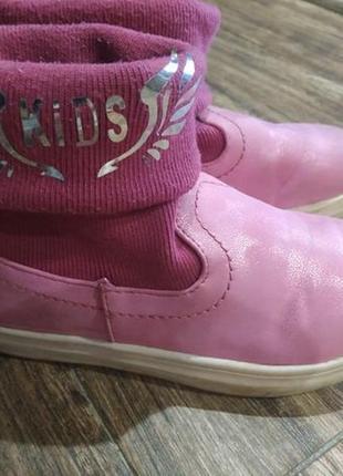 Ботинки для девочки 18,5 см3 фото