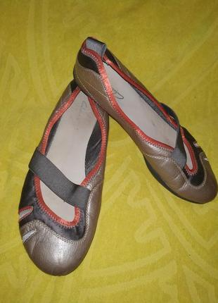 Балетки туфли clarks