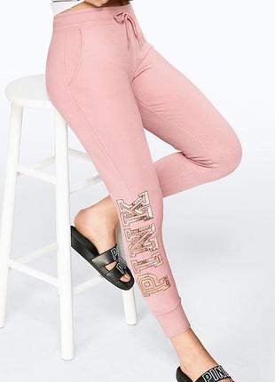Victoria secret джоггеры victorias secret pink штаны виктория сикрет