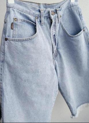 Джинсовые шорты мом, mom