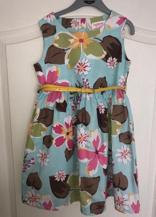 Платье 5 лет 110см