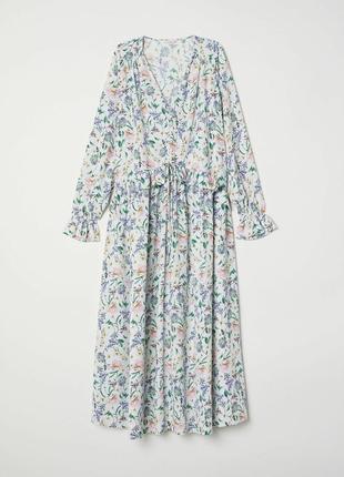 Модное шелковое платье в пол