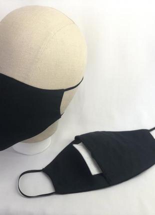 ‼️многоразовая защитная маска со сменным фильтром‼️