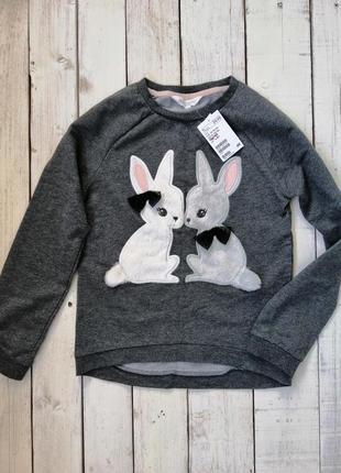 Прелестный новый свитер h&m, со скидкой 30 %, размер 8-10 лет (134/140 см) .