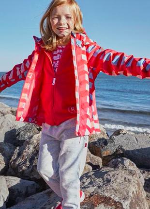 Куртка ветровка reima tec suvi 116 122 128 см  5-9 лет рейма максимальная мембрана