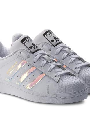 Стильные кроссовки adidas superstar, оригинал, р-р 38, ст 25 см