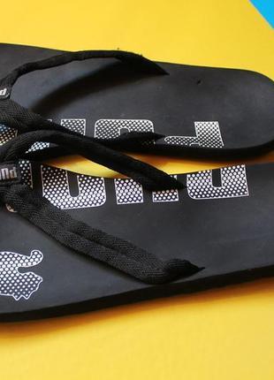 Отличные летние пляжные шлепанцы вьетнамки на лето puma