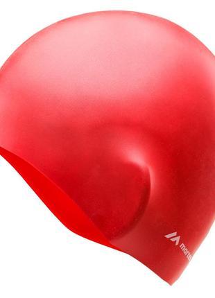 Шапочка для плавання martes monosili red