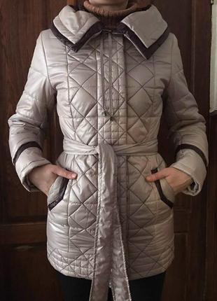 Куртка ришель 44 р. nui very живые фото