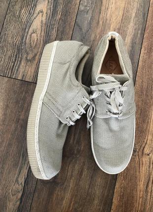 Текстильные мокасины-туфли состояние отличнейшее