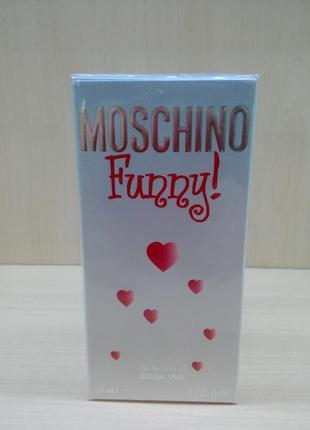 Moschino funny! москино фанни туалетная вода оригинал