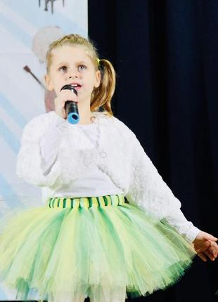 Шифоновая юбка на танцы
