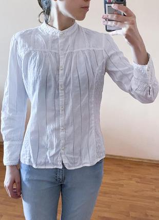 Рубашка блузка кружево