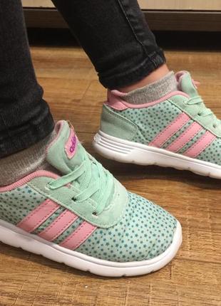 Кроссовки детские на девочку черевики адидас adidas (оригинал) р.26 (16.см)