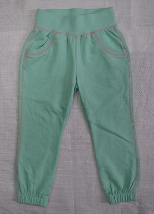 Детские спортивные штаны двунитка glo мята р. 98 см (glo-story, венгрия)