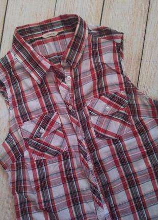 Рубашка безрукавка calliope s m сорочка