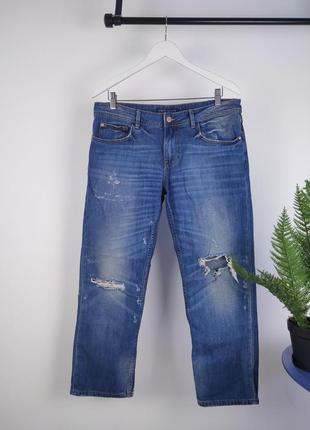 Синие джинсы от zara