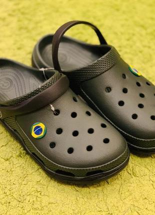 Мужские сабо в стиле crocs босоножки сандали