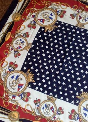 Romano платок полиестер италия.