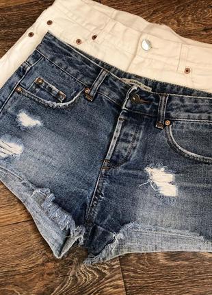 Джинсовые шорты р.xs pull&bear