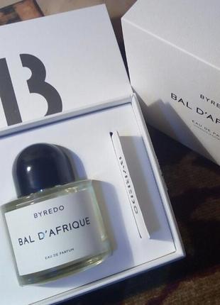 Bal d'afrique byredo eau de parfum 10 ml